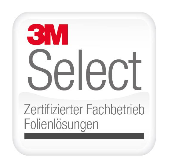 3M Select - Zertifizierter Fachbetrieb Folienlösungen